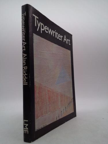 Typewriter art Book Cover