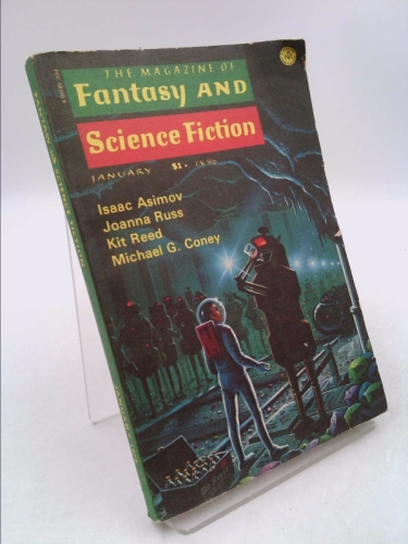 THE MAGAZINE OF FANTASY AND SCIENCE FICTION: Vol.50 No.1 (F&SF) January (Jan) 1976 (Friday the Thirteenth, Time Is Money)