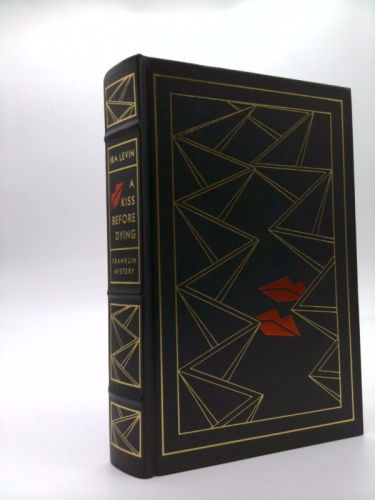 A Kiss Before Dying. The Franklin Library of Mystery Masterpieces
