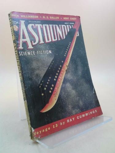"ASTOUNDING Science-Fiction: November, Nov. 1938 (""The Tramp"")"