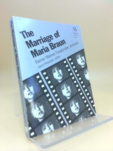 The Marriage of Maria Braun: Rainer Werner Fassbinder, Director