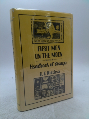 First men on the moon: Handbook of stamps Book Cover