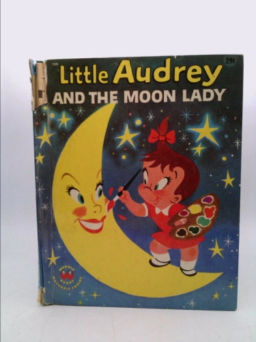 LITTLE AUDREY AND THE MOON LADY Wonder Books #759