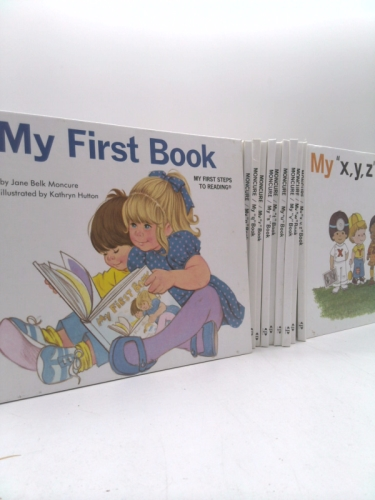 Complete My Book Series : My Book My First Book My First Steps to Reading, My a , My B , My C, My D , My E , My F, My G , My H, My I , My J, My K, My L, My M. My N, My O, My P, My Q, My R, My S, My T, My U, My V, My W, My X Y Z