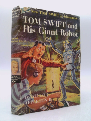 Tom Swift and His Giant Robot (The New Tom Swift Jr. Adventures, Book 4)