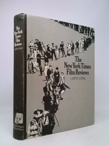 New York Times Film Reviews 1975-1976 Book Cover