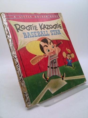 Rootie Kazootie Baseball Star. A Little Golden Book
