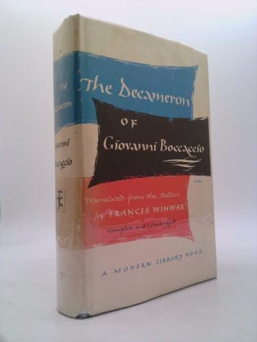 The Decameron of Giovanni Boccaccio (Complete and Unabridged) (Modern Library 71)