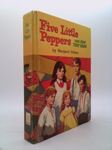 Five little Peppers and how they grew, (Whitman famous classics)