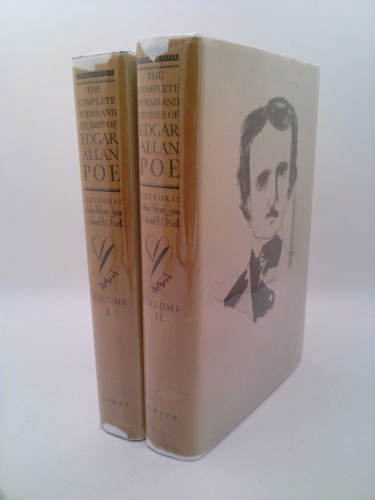 The Complete Poems and Stories of Edgar Allen Poe with Selections from His Critical Writings (Two Volumes) Book Cover
