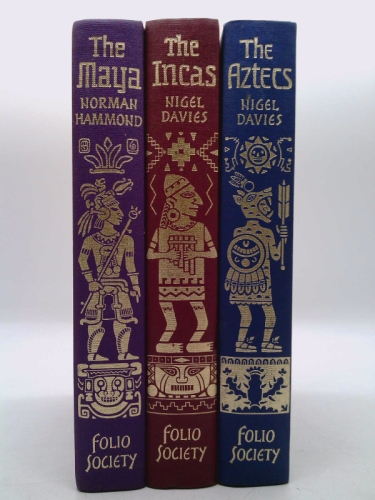 EMPIRES OF EARLY LATIN AMERICA - IN 3 VOLUMES - THE MAYA - THE INCAS - THE AZTECS