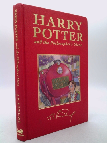 Harry Potter and the Philosopher's Stone, Deluxe British Edition